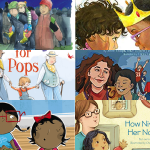 book covers of books about same sex parents